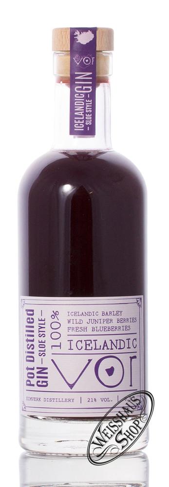 VOR Iceland Sloe Gin 21% vol. 0,50l