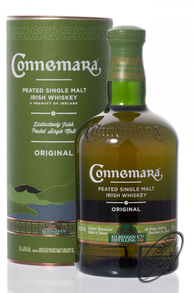 Connemara Peated Single Malt Irish Whiskey 40% vol. 0,70l