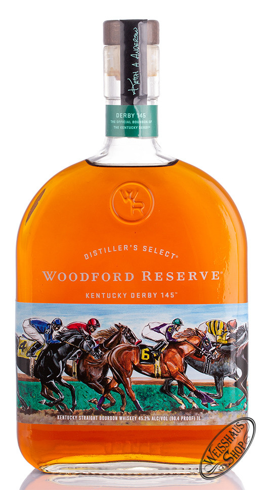 Woodford Reserve Kentucky Derby Whiskey 45,2% vol. 1,0l