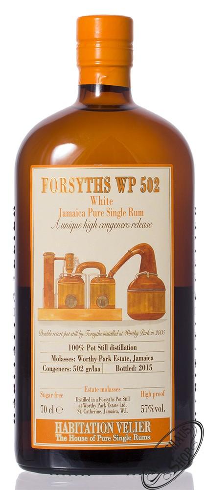 Habitation Velier Forsyths WP 2005 Rum 57% vol. 0,70l
