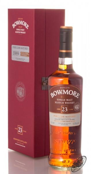 Bowmore 23 YO Port Cask Matured Islay Whisky 50,8% vol. 0,70l