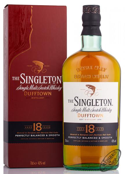 Singleton of Dufftown 18 YO Whisky 40% vol. 0,70l
