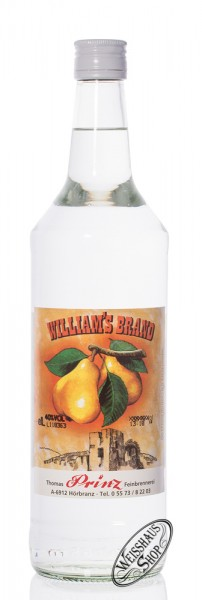 Prinz Williams Brand 40% vol. 1,0l