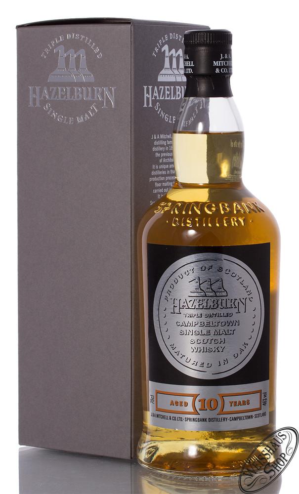 Springbank Hazelburn 10 YO Bourbon Cask Whisky 46% vol. 0,70l