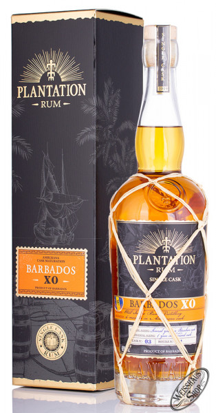 Plantation Barbados XO Single Cask Edition Rum 48% vol. 0,70l