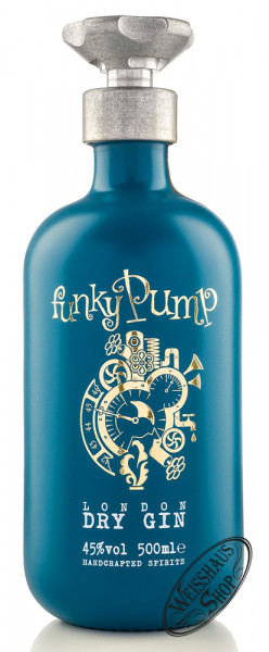 Funky Pump London Dry Gin 45% vol. 0,50l