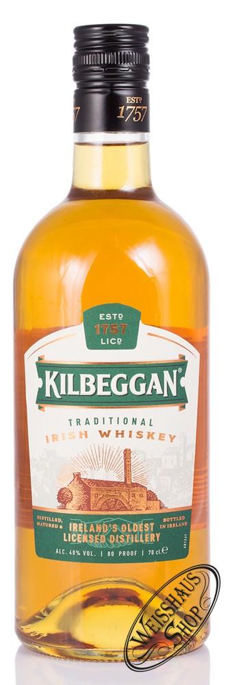Kilbeggan Irish Whiskey 40% vol. 0,70l