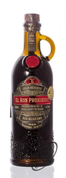 El Ron Prohibido 15 YO Rum 40% vol. 0,70l