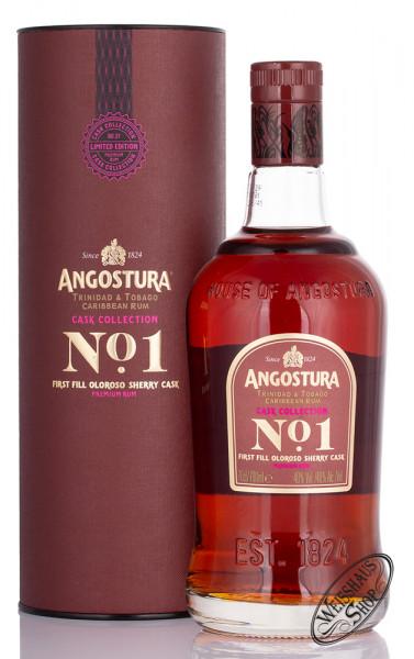 Angostura First Fill Oloroso Sherry Cask Rum 40% vol. 0,70l