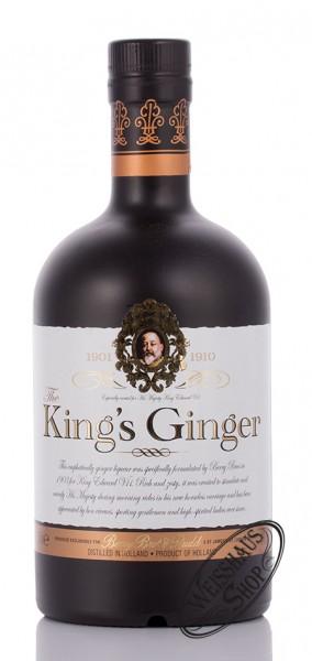 Kings Ginger Ingwer Likör 41% vol. 0,50l