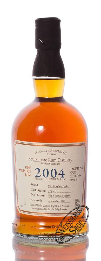 Foursquare Distillery Foursquare Cask Strength Rum 2004 59% vol. 0,70l