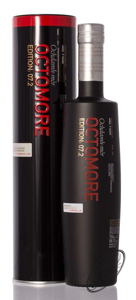 Bruichladdich Octomore 07.2 Islay Whisky 58,5% vol. 0,70l