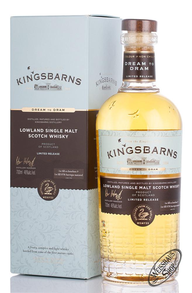 Kingsbarns Distillery Kingsbarns Dream to Dram Whisky 46% vol. 0,70l