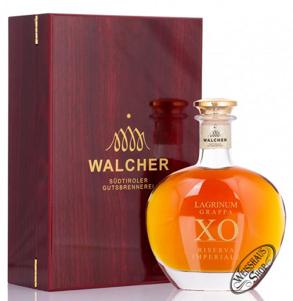 Walcher Grappa Lagrinum XO Imperiale 40% vol. 0,50l