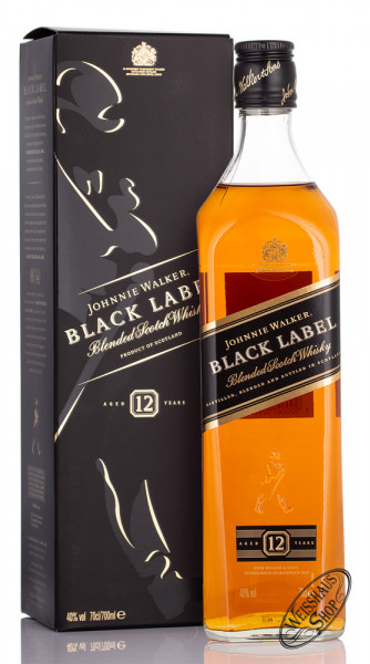 Johnnie Walker Black Label Blended Scotch Whisky 40% vol. 0,70l