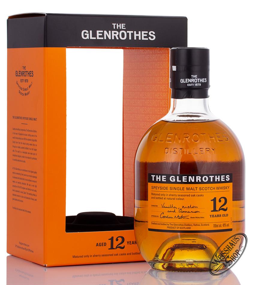 The Glenrothes 12 YO Whisky 40% vol. 0,70l