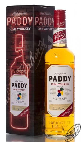 Paddy Irish Whiskey 40% vol. 0,70l