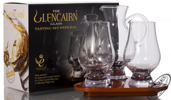 The Glencairn Glass Stölzle Tasting Set mit Krug