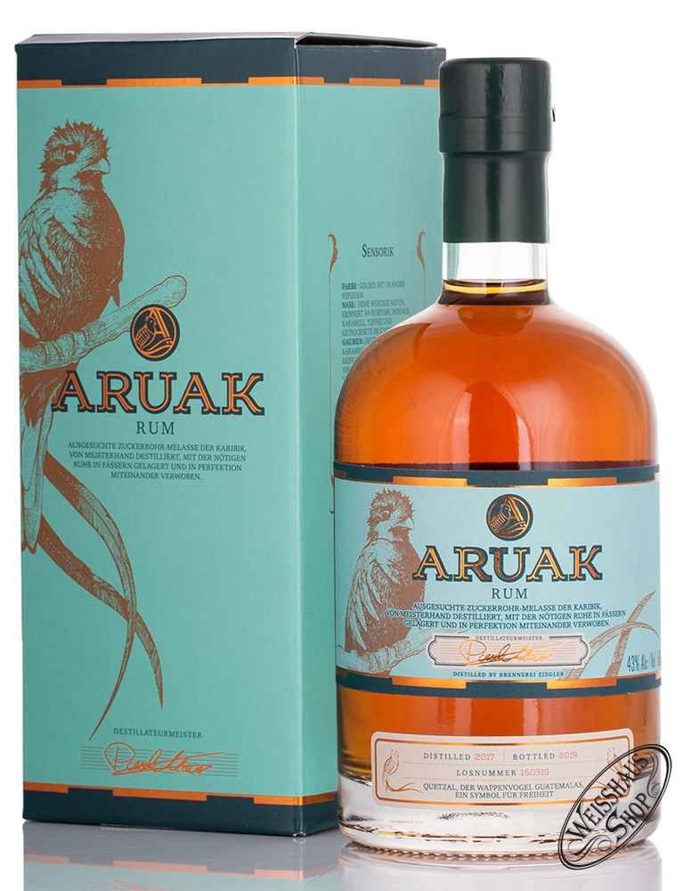 Brennerei Ziegler Ziegler Aruak Rum 43% vol. 0,50l