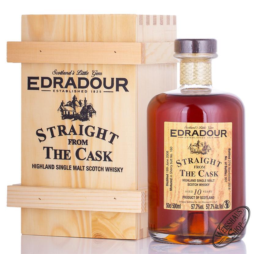 Edradour 2008 SFTC Sherry Cask Whisky 57,7% vol. 0,50l
