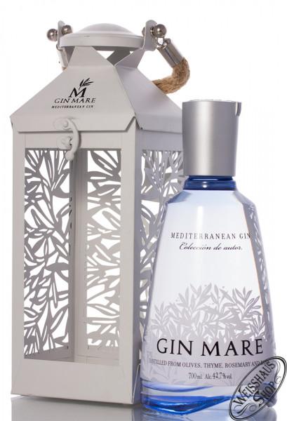 Gin Mare Mediterranean Gin Laternen-Edition Geschenk-Set 42,7% vol. 0,70l