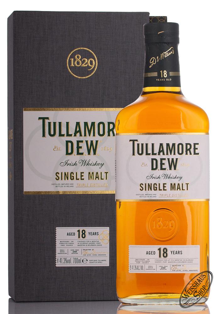 Tullamore Dew 18 YO Single Malt Whiskey 41,3% vol. 0,70l