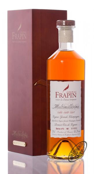 Frapin Multimillesime No. 6 1986-1988-1991 Cognac 41,7% vol. 0,70l