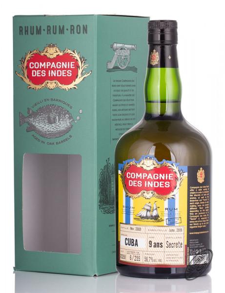 Compagnie des Indes Cuba 9 YO Rum 58,7% vol. 0,70l