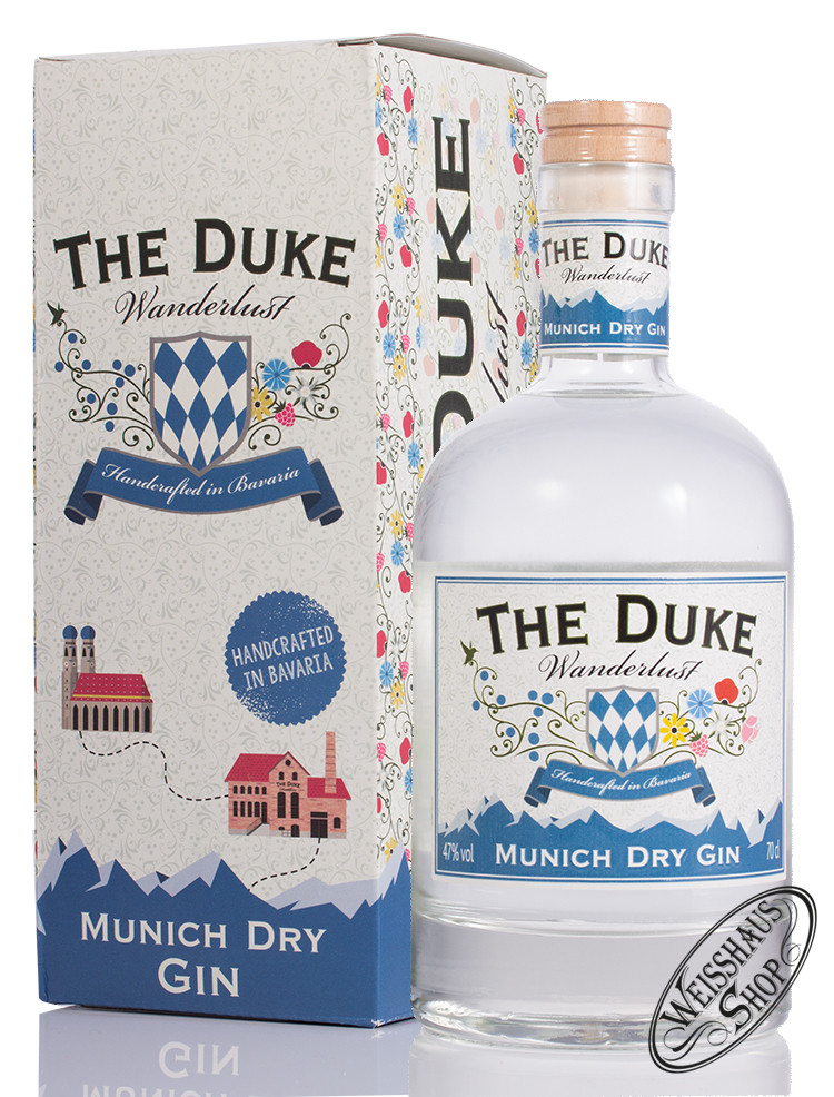 The Duke Wanderlust Gin 47% vol. 0,70l