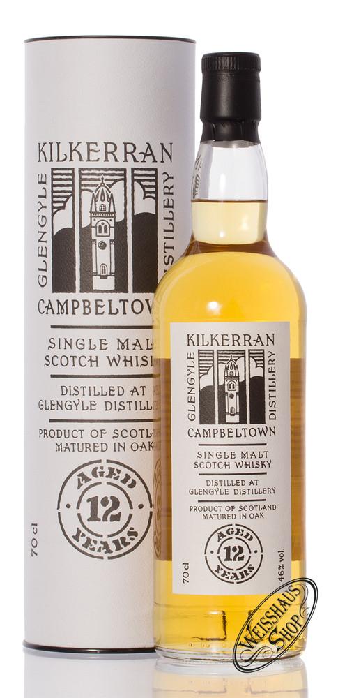 Kilkerran 12 YO Single Malt Whisky 46% vol. 0,70l