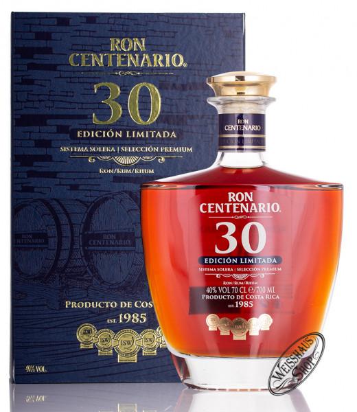Ron Centenario Edición Limitada 30 Jahre 40% vol. 0,70l
