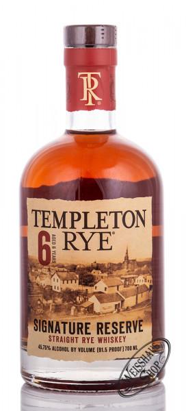 Templeton 6 YO Rye Whiskey 45,75% vol. 0,70l