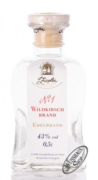 Ziegler No.1 Wildkirsch Brand 43% vol. 0,50l