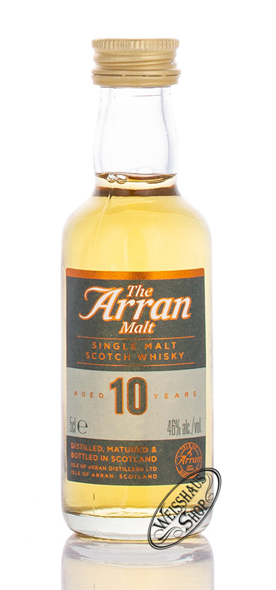 The Arran 10 YO Single Malt Whisky Miniatur 46% vol. 0,05l