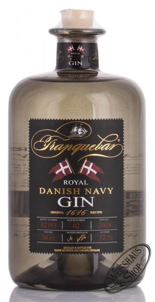 Tranquebar Royal Danish Navy Gin 52% vol. 0,70l