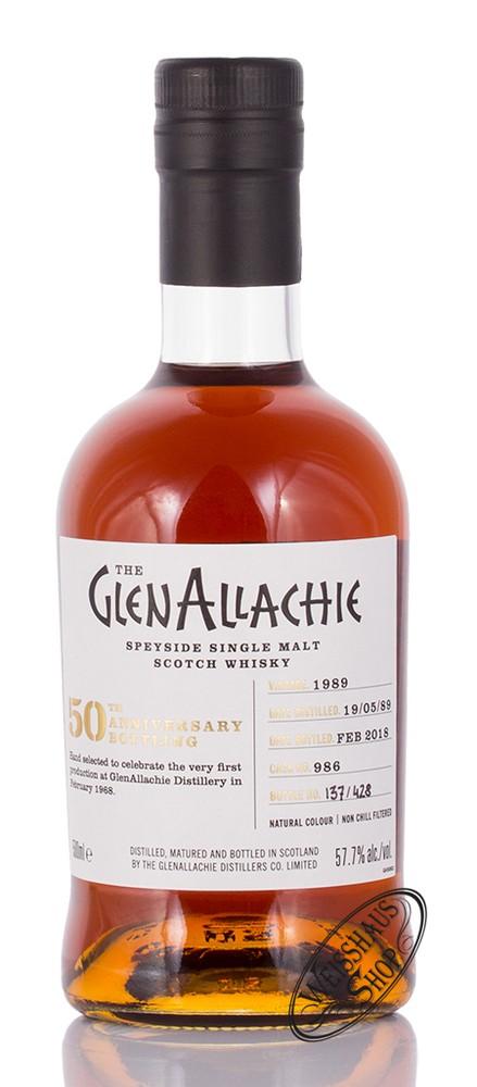 Glenallachie Distillers Co. Limited Glenallachie Vintage 1989 Single Malt Whisky 57,7% vol. 0,50l