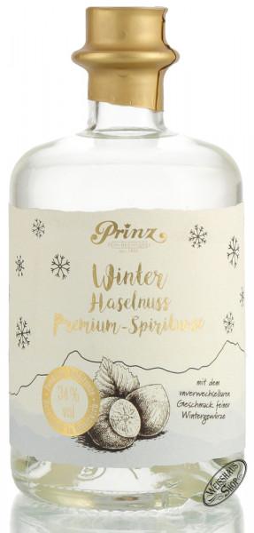 Prinz Winter Haselnuss Premium Spirituose 34% vol. 0,50l