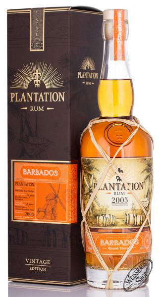 Plantation Barbados 2005 Vintage Edition Rum 42,8% vol. 0,70l