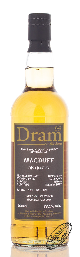 Morrison & MacKay Ltd. Macduff C&S Dram Collection Whisky 55,1% vol. 0,70l