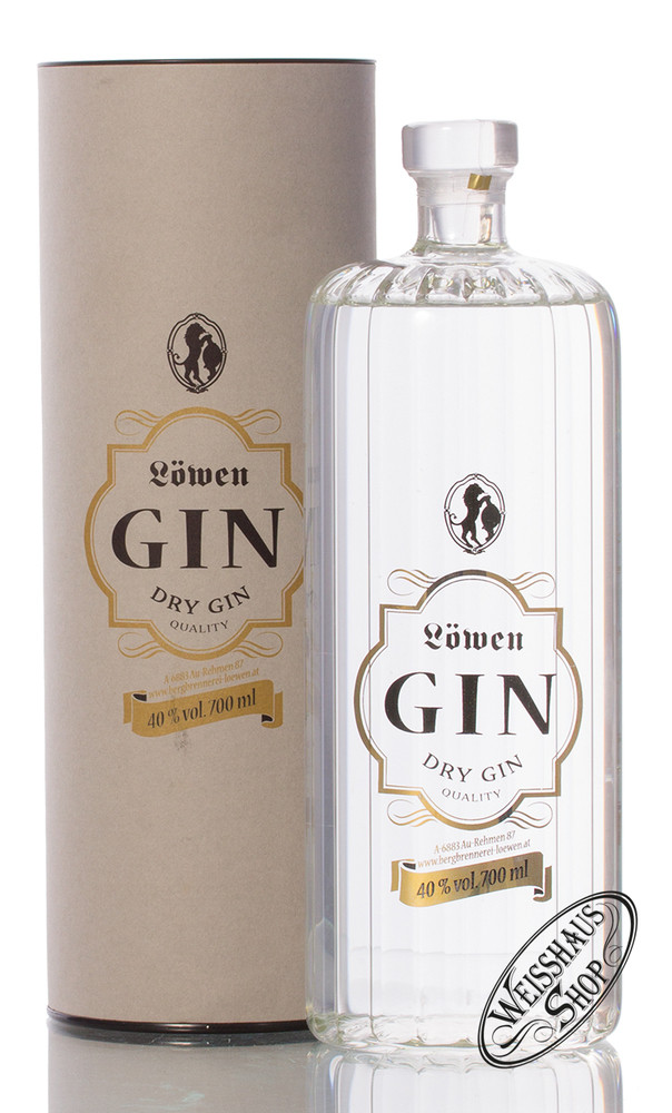 Bergbrennerei L�wen Gin 40% vol. 0,70l