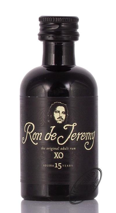 Ron de Jeremy XO Solera 15 YO Rum Miniatur 40% vol. 0,05l