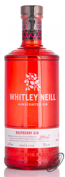 Whitley Neill Raspberry Gin 43% vol. 0,70l