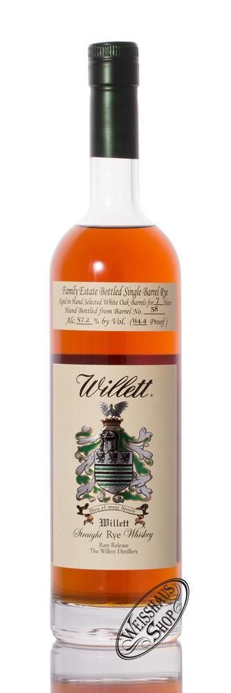 Willett Family Estate Rye 7 YO Whisky 57,2% vol. 0,75l