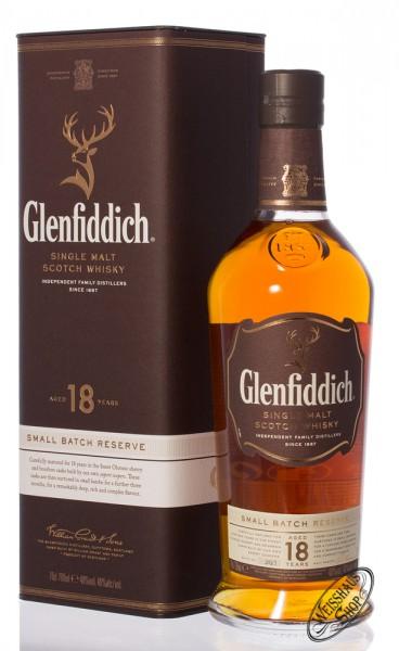 Glenfiddich 18 YO Single Malt Whisky 40% vol. 0,70l