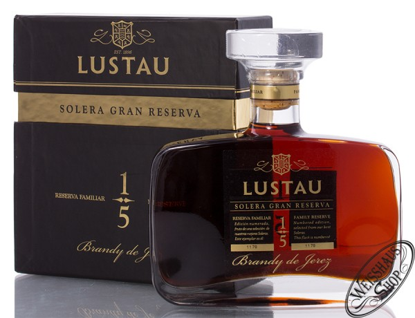 Lustau Solera Gran Reserva Family Reserve 43% vol. 0,50l