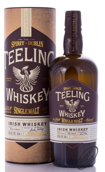 Teeling Irish Single Malt Whiskey 46% vol. 0,70l