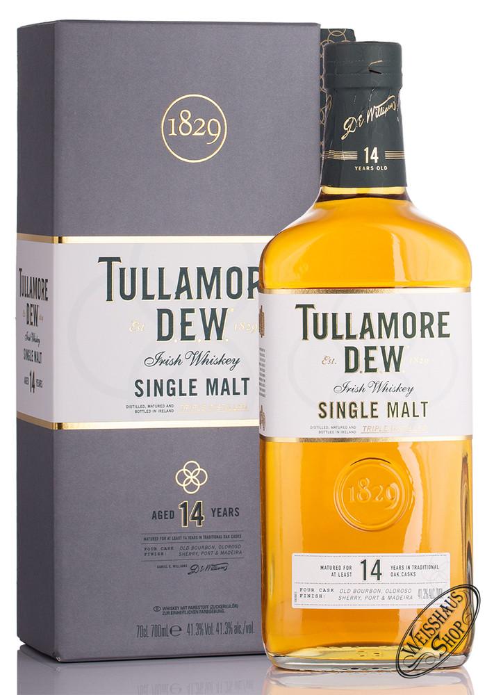 Tullamore Dew 14 YO Single Malt Whiskey 41,3% vol. 0,70l