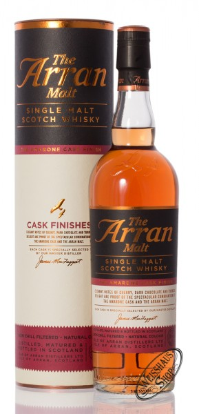 The Arran Amarone Finish Whisky 50% vol. 0,70l