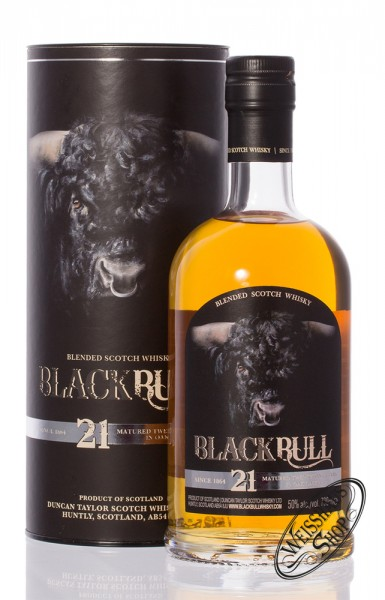 Black Bull 21 YO Whisky 50% vol. 0,70l