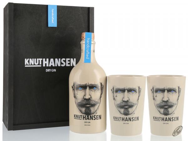 Knut Hansen Dry Gin Geschenk-Set 42% vol. 0,50l